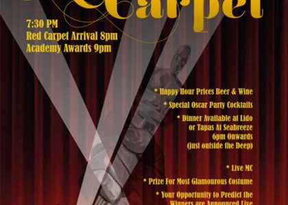 Don't Miss This Weekend – Live from the Red Carpet!
