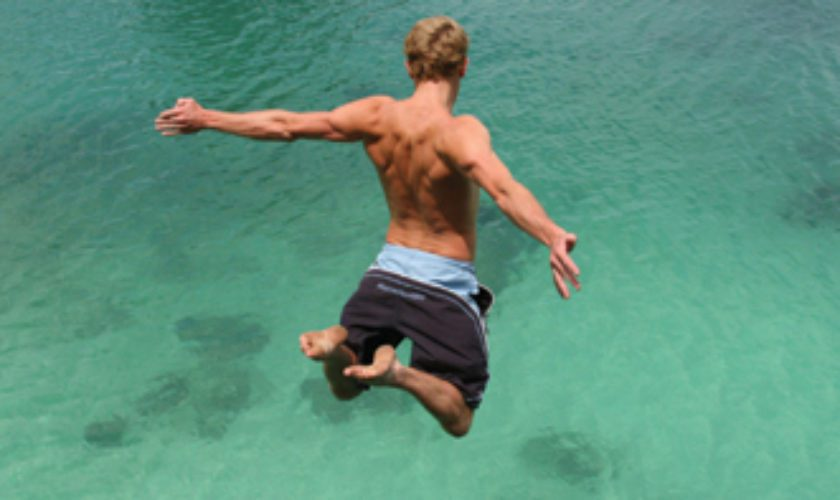 15 Things: Jump Off the Rocks, any Rocks and the Higher the Better