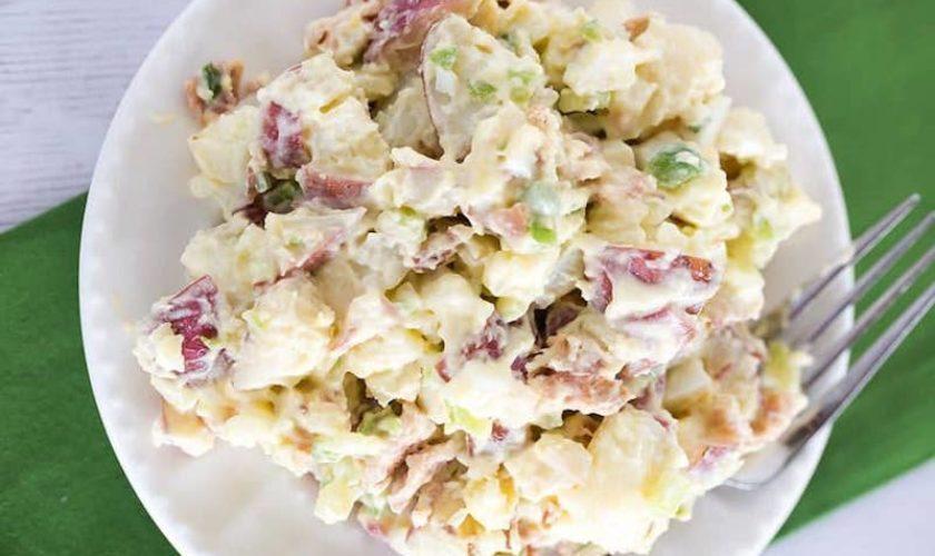 Potato and Peapod Salad with Mint