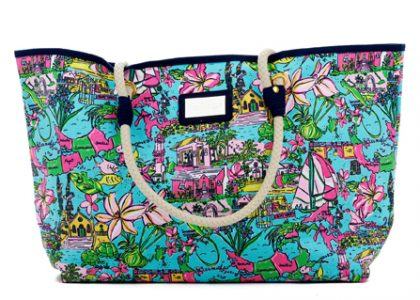 Lilly Pulitzer and Cecile Team-Up Again for a Bermuda-Inspired Print!
