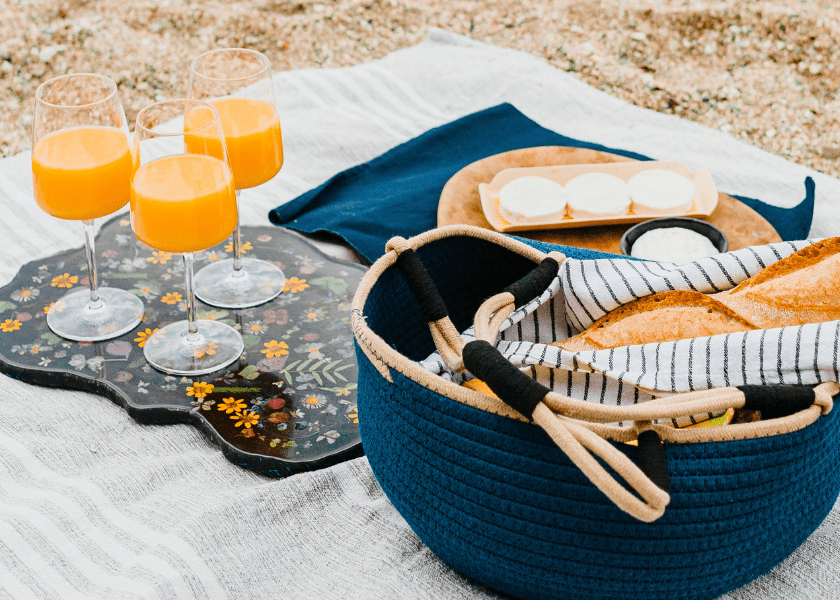 The Perfect Boating Picnic