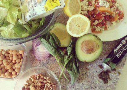 Gluten-Free Halloumi Salad