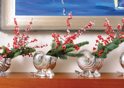 Five Festive Mantels: Blending Old with New