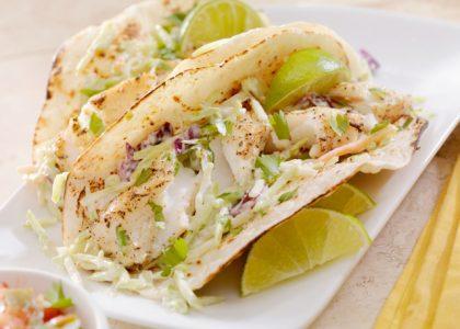 Grilled Bermuda Fish Tacos