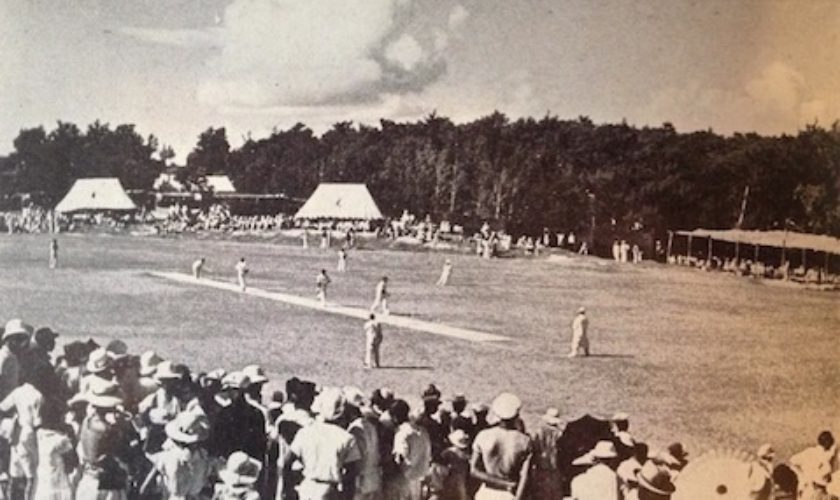 Cup Match in Sandys 1937
