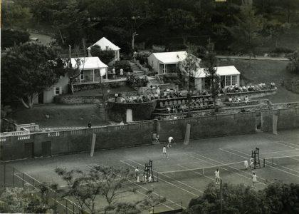 Tennis in Old Bermuda