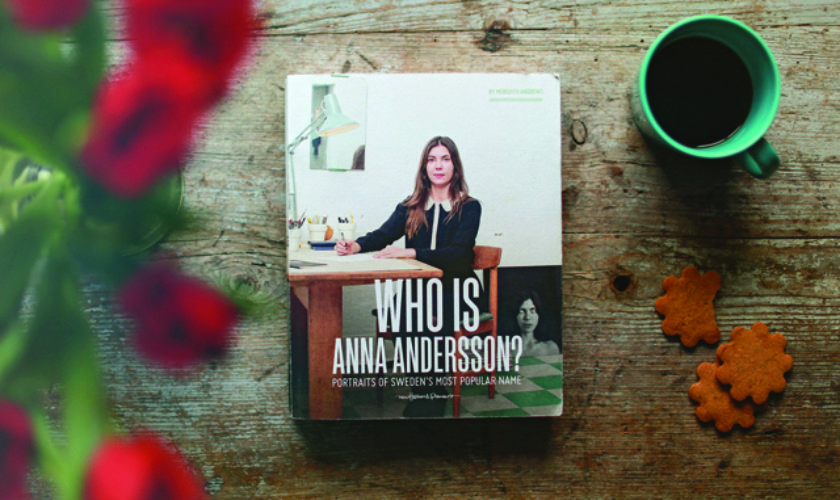 """What's in A Name? Meredith Andrews'; Book """"Who Is Anna Andersson?"""""""
