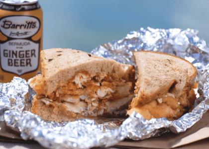 Bailey's Bay Fish Sandwich