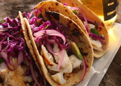 Grilled Bermuda Fish Tacos
