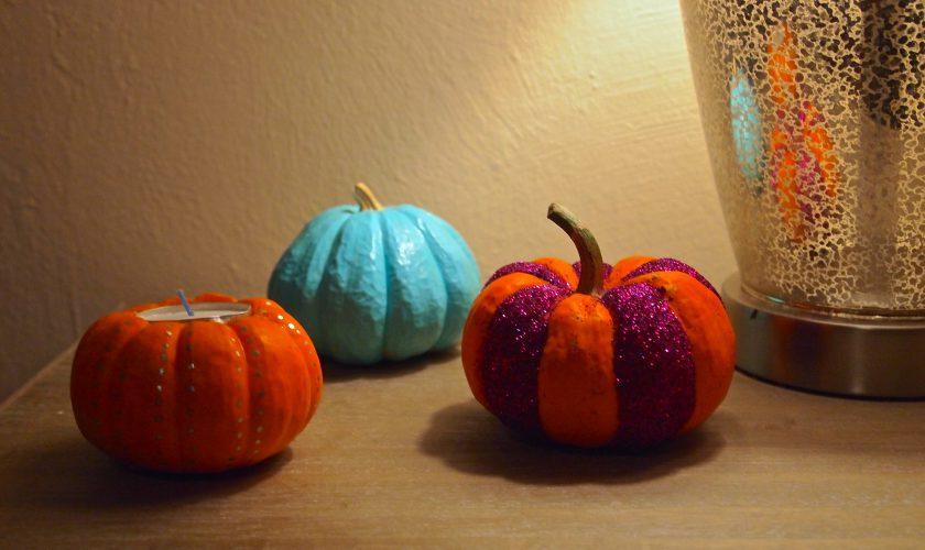Decorating for Fall: Contemporary Pumpkins