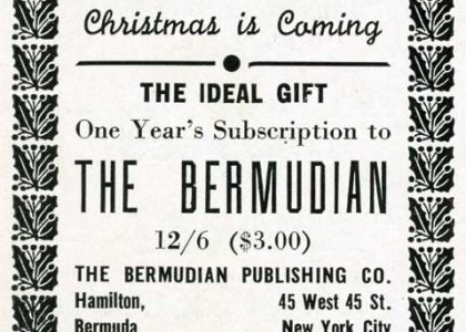 The Bermudian's Vintage Christmas Ads