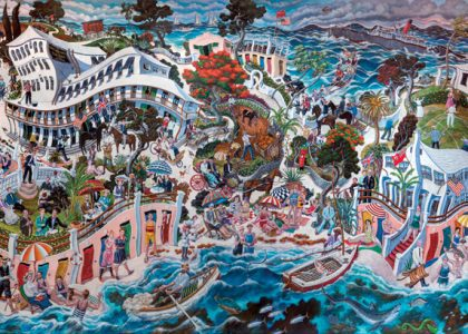 Elbow Beach's Painterly Past