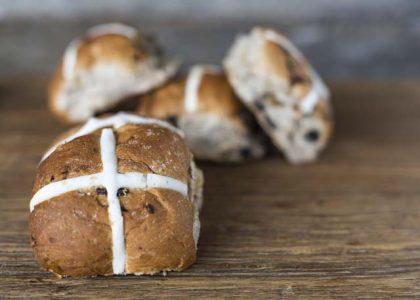 Gluten & Yeast-Free Hot Cross Buns