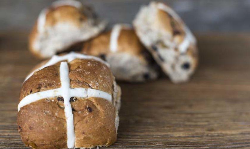 Baking Hot Cross Buns