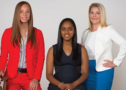 Dominique Richardson, Natasha Osborne & Chelsea Mayeaux