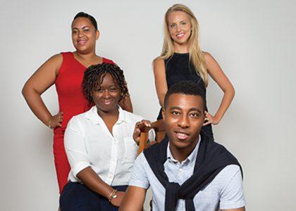 Karimah Z. Moore, Risa Hunter, Tiffany Samuels and Kevin Simmons