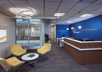 Commercial Interior Design Winner: Sun Life Financial