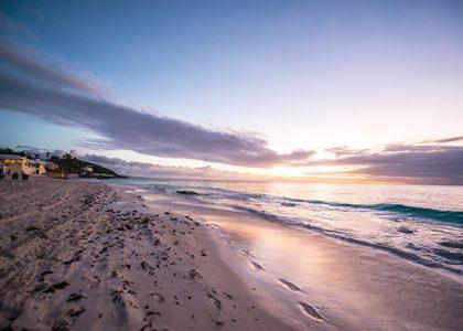 Into the Ocean: Elbow Beach