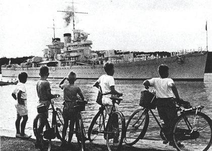 Bermuda During the Second World War