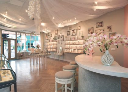 Commercial Interior Design Winner: Alexandra Mosher Studio Jewellery Flagship Store