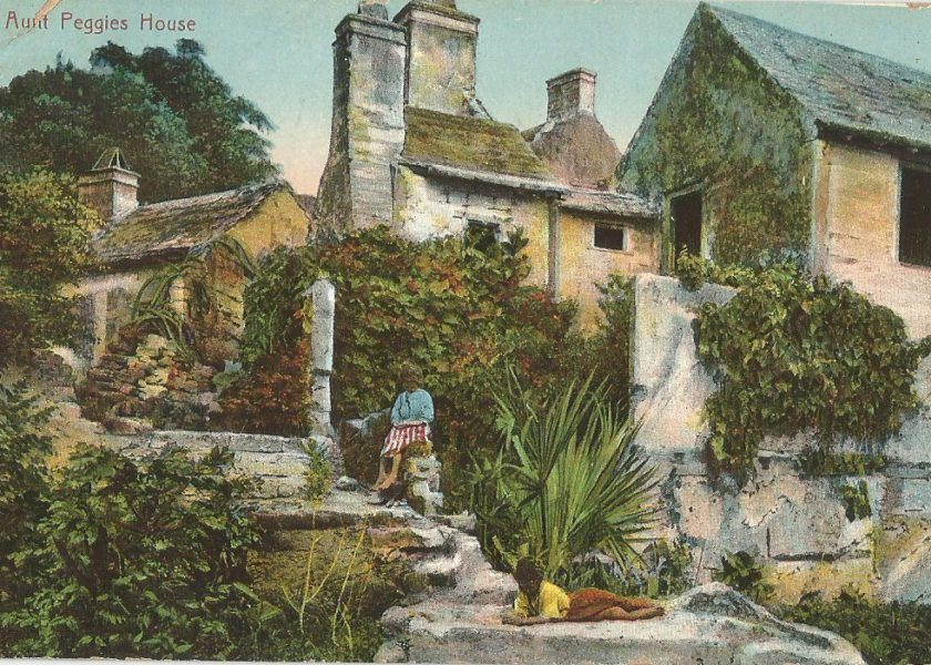 Iconic Bermuda Architecture Represented on Vintage Postcards