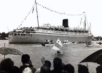 Vintage Bermuda: Cruise Ship Photography