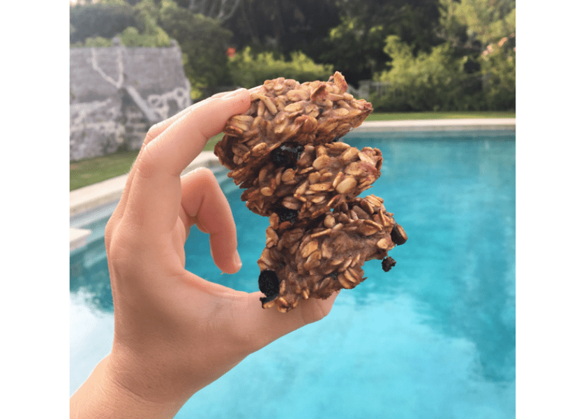 Spiced Banana Oat Cookies (Dairy & Gluten Free)