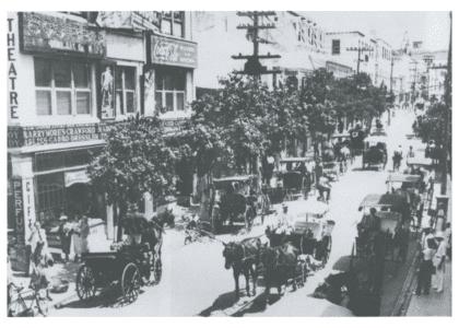 The Bermudian's Almanac: Reid Street, 1933
