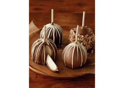 Decadent Caramel Chocolate Apples