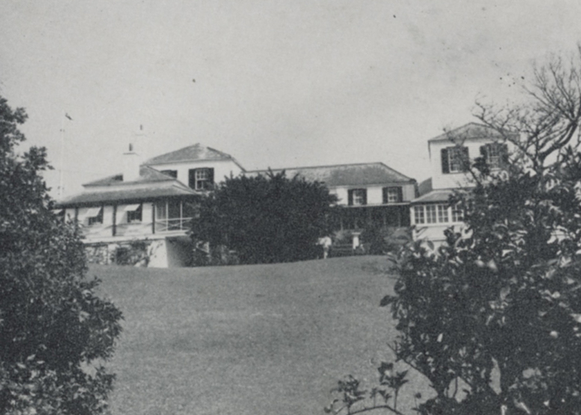 The History of Admiralty House