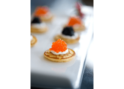 Blini with Caviar