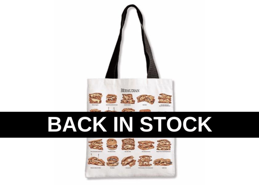 The Bermudian's Original Fish Sandwich Tote Bag