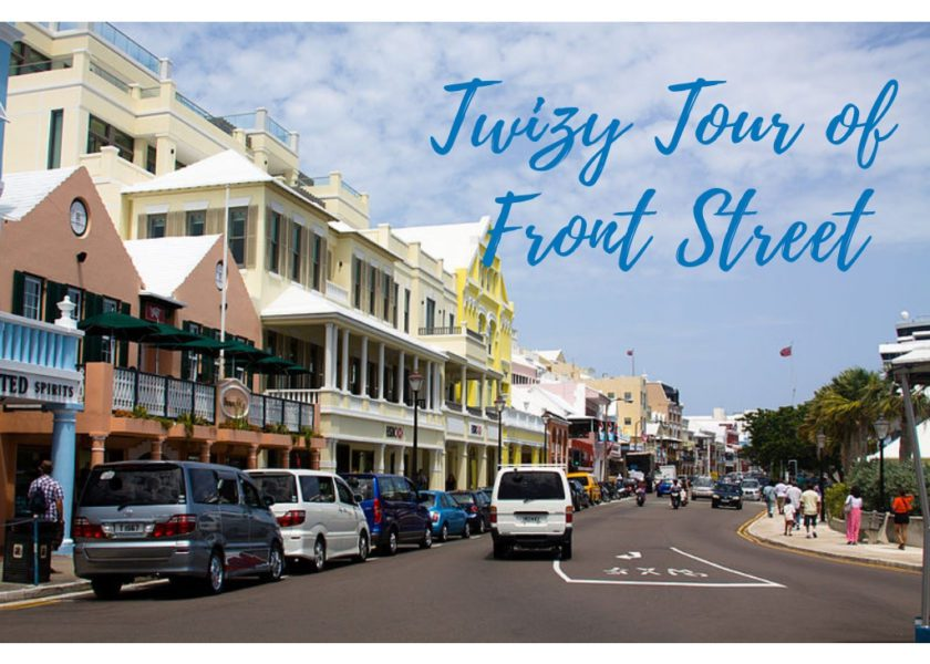 A Twizy Tour of Front Street