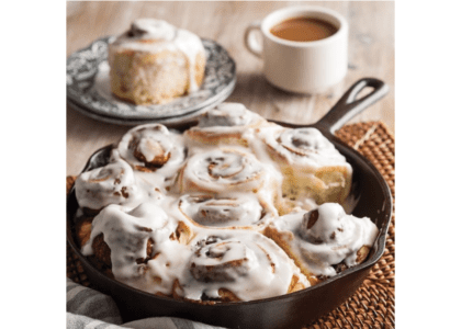 Classic Southern Cinnamon Rolls