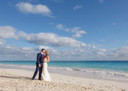 Real Bermuda Wedding: Caroline & Darren