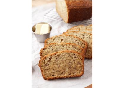 Loquat Banana Bread