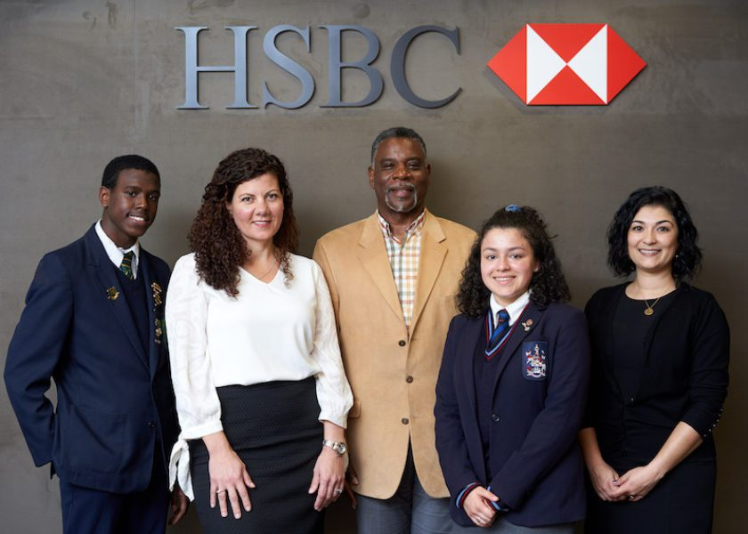 Dynamic Debaters and HSBC Help Workforce of Tomorrow Master Fintech