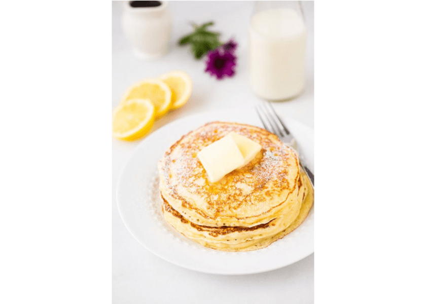 Lemon Ricotta Pancakes for Shrove Tuesday