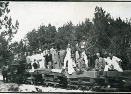 An American Visitor Rides the New Railroad