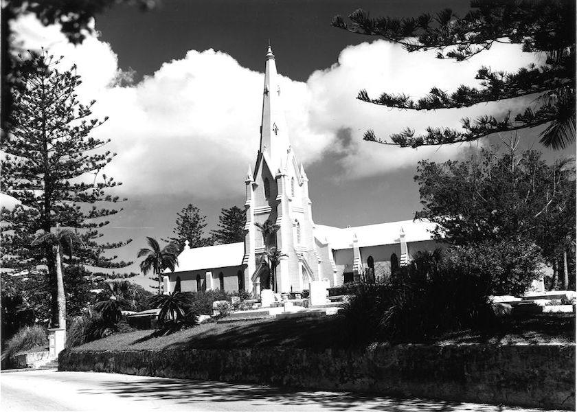 Vintage Island Churches