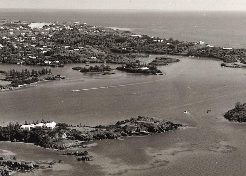 Vintage Aerial Views of Bermuda