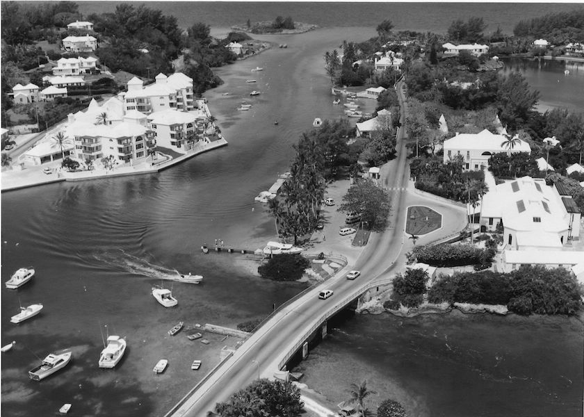 Vintage Aerial Photography of Bermuda