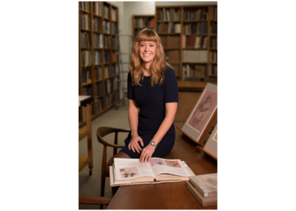 Ashley Dunn is Assistant Curator at the Met!