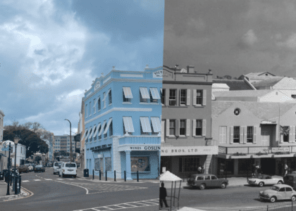 Front Street: Then & Now
