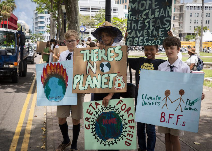 "A Look Back at Bermuda's ""Fridays for Future"" Climate Change Rally"