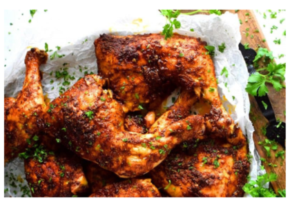 Gosling's Black Seal Barbecued Chicken