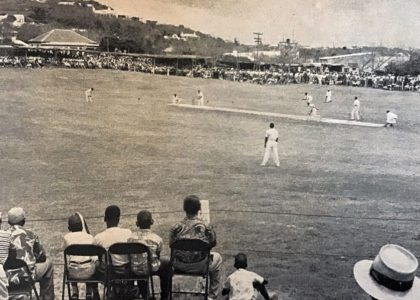 A Yank at Cup Match, 1951