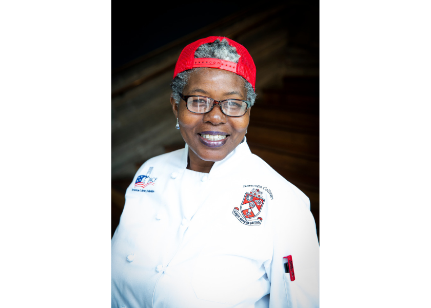 Chef's Choice! Renee Daniels Wins Hamilton Princess and Bermuda College's Culinary Students' Chefs Competition