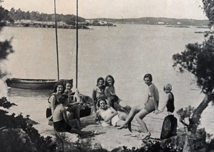 Fern Island Camp, 1931