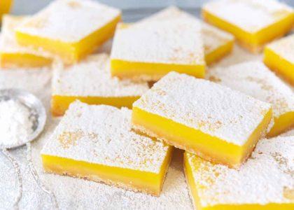 Zesty Lemon Squares